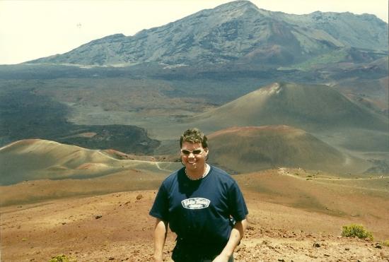 Inside Haleakala Volcano
