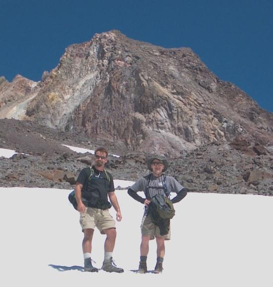 Hiking Zig Zag Glacier