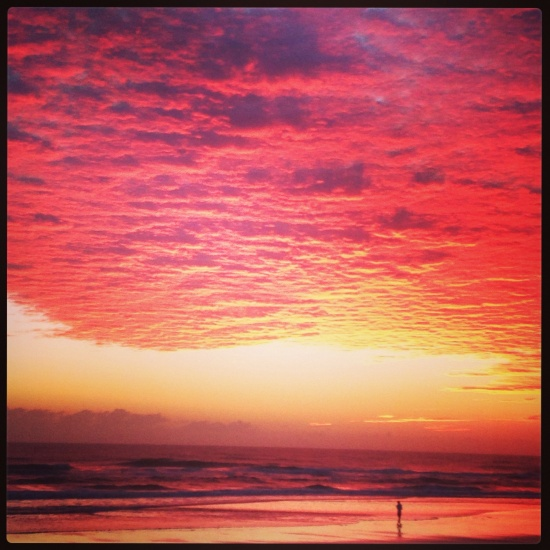Sunrise over Daytona Beach