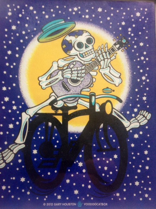 gary houston - flatstock rock poster show